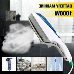 1000W Electric Steam Iron Handheld Fabric Clothes Laundry St