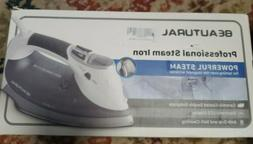 Beautural 1800-Watt Steam Iron with Digital LCD Screen, Doub