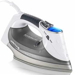 BEAUTURAL 1800-Watt Steam Iron with Digital LCD Screen Doubl