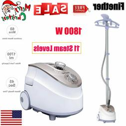 1800w standing clothes fabric steamer iron steam