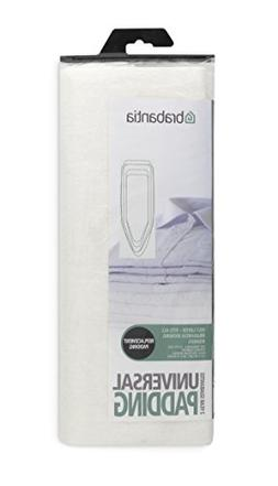 Brabantia Ironing Board Cover Replacement Felt Pad - White