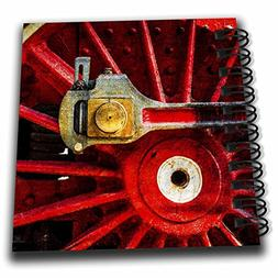 3dRose Alexis Photography - Transport Railroad - Red iron wh