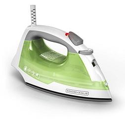 BLACK + DECKER Easy Steam Compact Iron & TrueGlide Nonstick