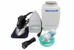 Silver Star Bottle Steam Iron ES-90 Gravity Feed Steam Iron