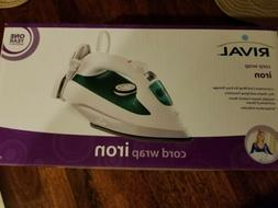 Brand New In Box, Rival, Cord Wrap, Steam IRON, Model ES2325