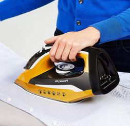 PowerXL Cordless Iron and Steamer, 1400W Iron, Ceramic Solep
