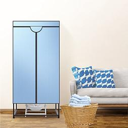 Double layer Portable Safe Clothes dryer,Household Wardrobe