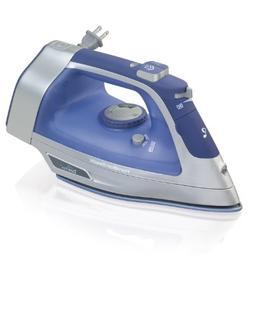 Hamilton Beach Durathon Retractable Cord Iron  - 1500 W - Bl