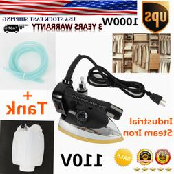 Gravity Feed Industrial Electric Steam Iron Set Gravity Iron