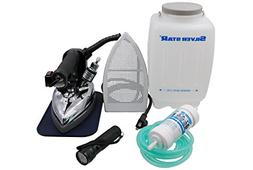 Silver Star Bottle Steam Iron ES-85 Gravity Feed Steam Iron
