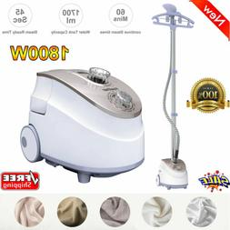 Heavy Duty Stand Garment Steamer Clothes Fabric Steamer 11 S