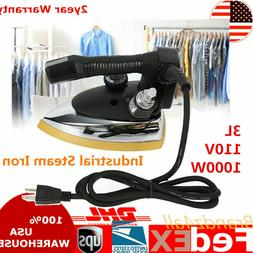 Industrial Electric Steam Iron Steamer 60~220℃+3L Tank 10