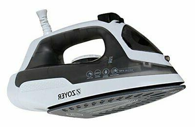 ZOYER 1200-Watt for Compact with Ceramic Soleplate