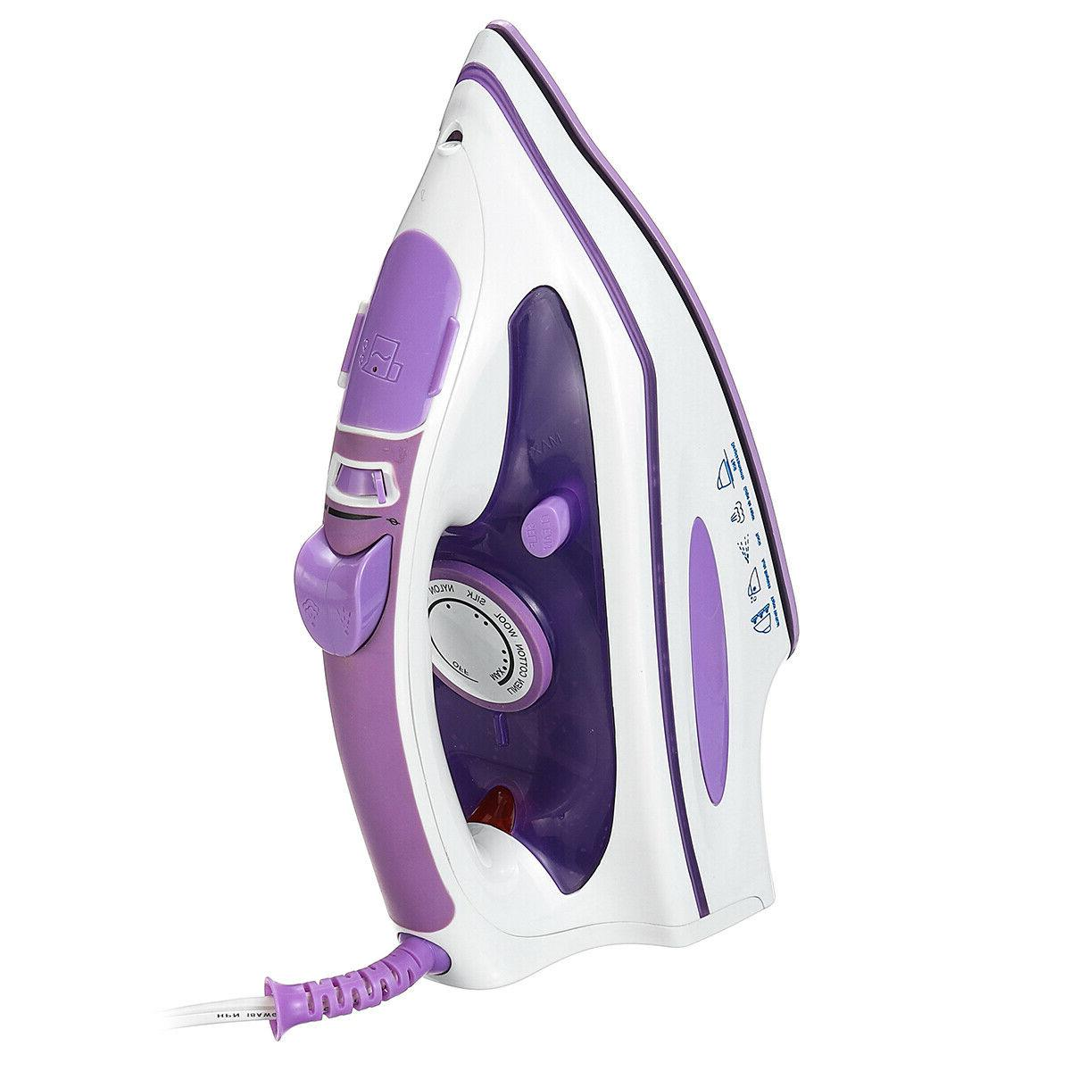 1200W Steam Iron Steamer Clothes Handheld Fabric Home