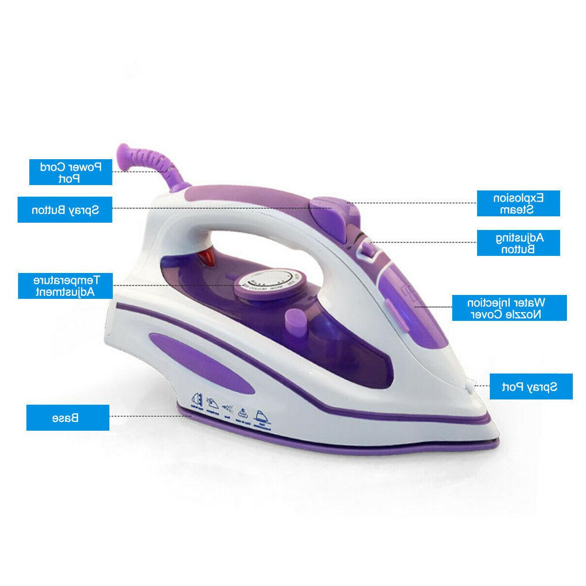 1200W Iron Steamer Garment Clothes Handheld Fabric Laundry
