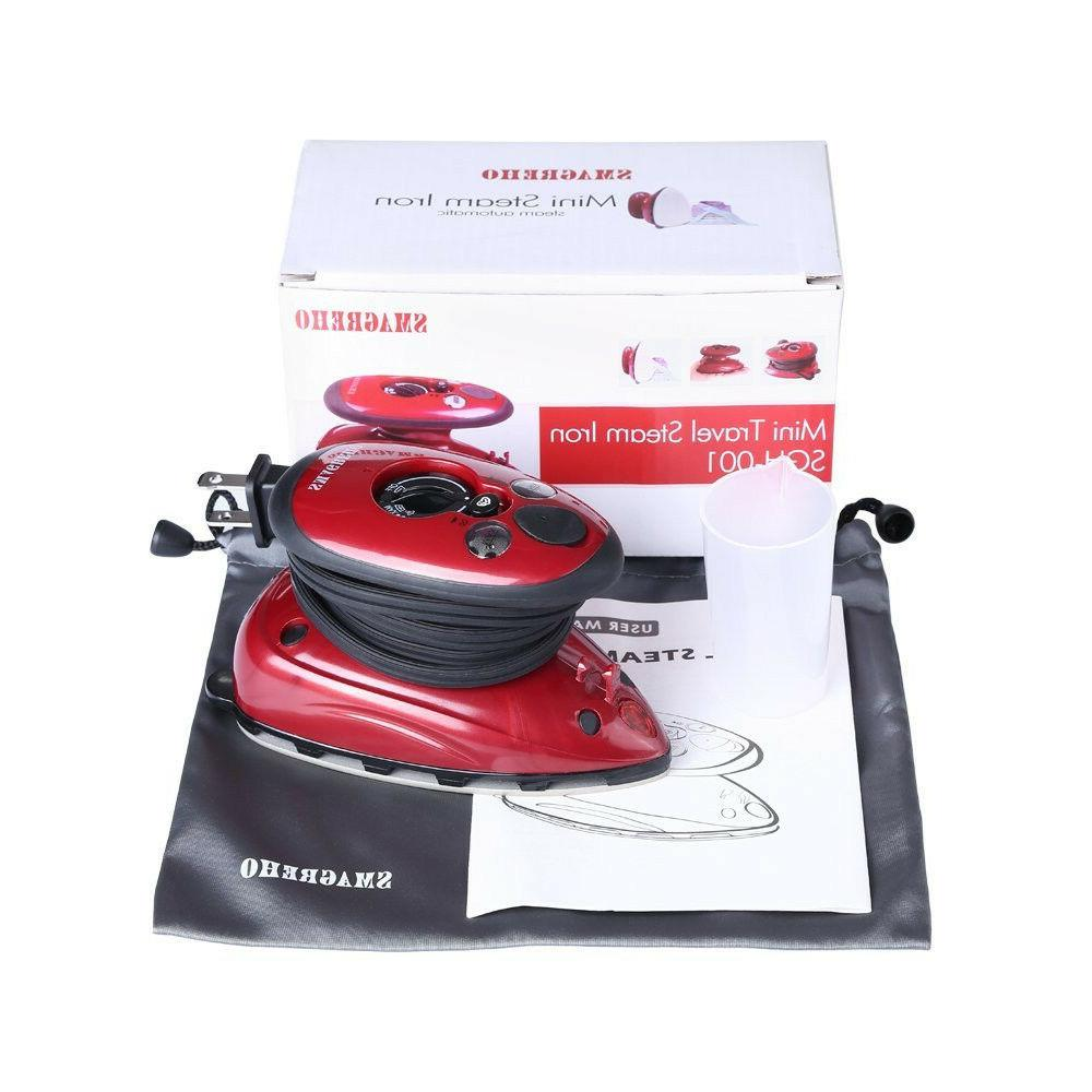 Portable Travel Steam Dry Iron Compact Handle