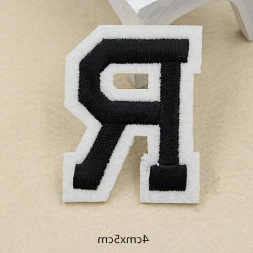 Clothing Iron On A-Z Patch