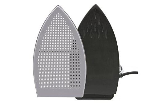 Silver Star Iron Steam Kit Ironing System includes Non-Stick Plate and Demineralizer