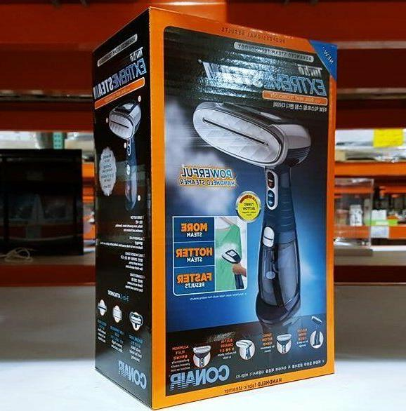 Brand New Conair GS38K Extreme Steam Fabric Steamer 220V