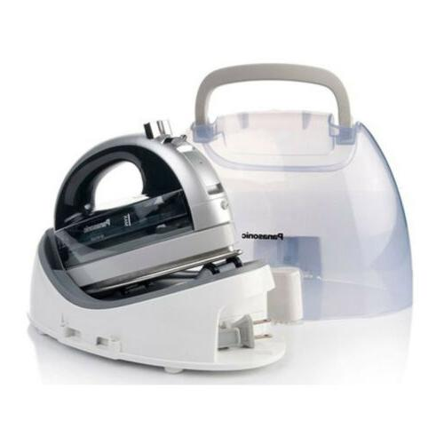 cordless 360 degree steam dry iron