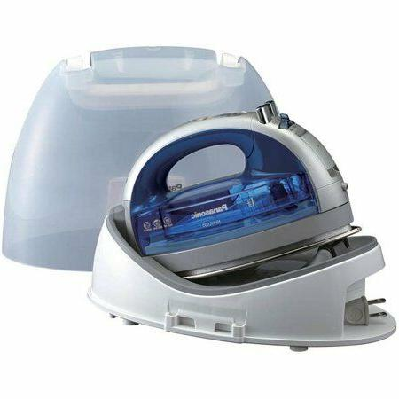Cordless 360° Iron with Curved Steel