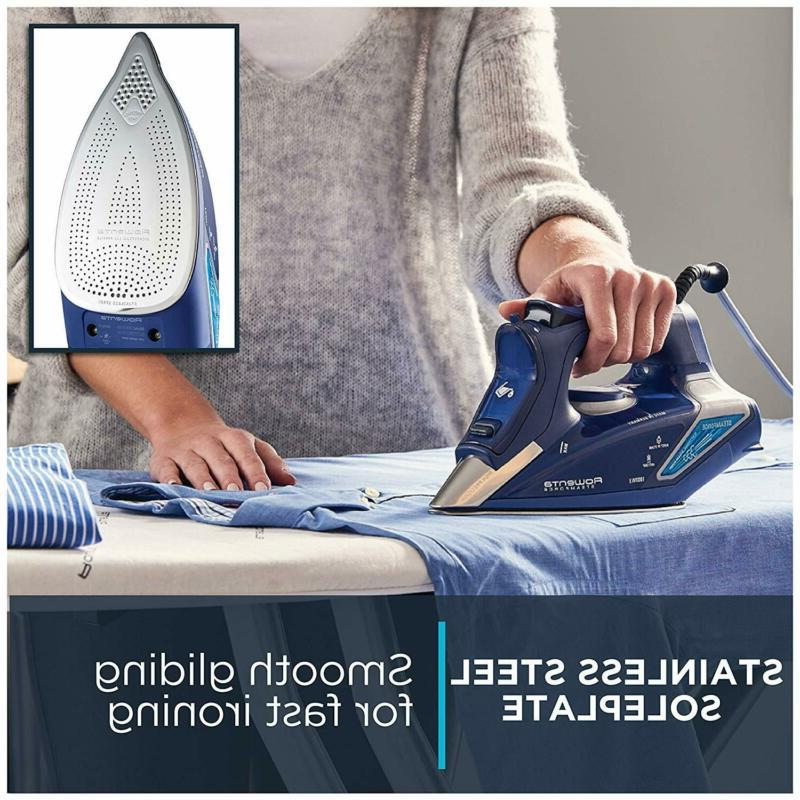 Rowenta Display Steam Iron, Stainless