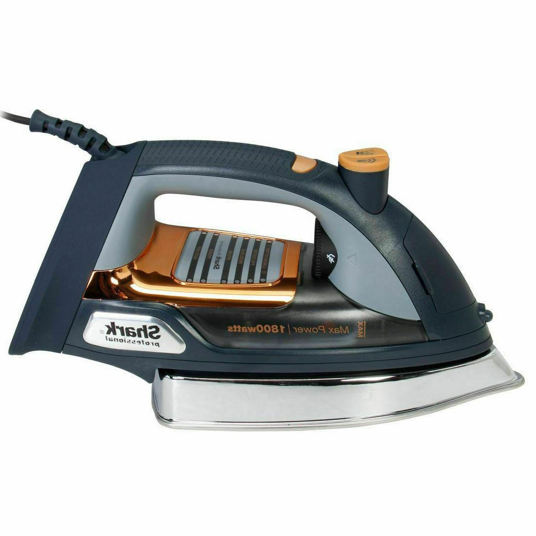 "Shark Iron 9.5"" Self-Cleaning Steam"