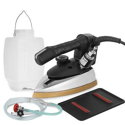Gravity Feed Electric Steam Iron 140~428℉ 1000W Fast Therm