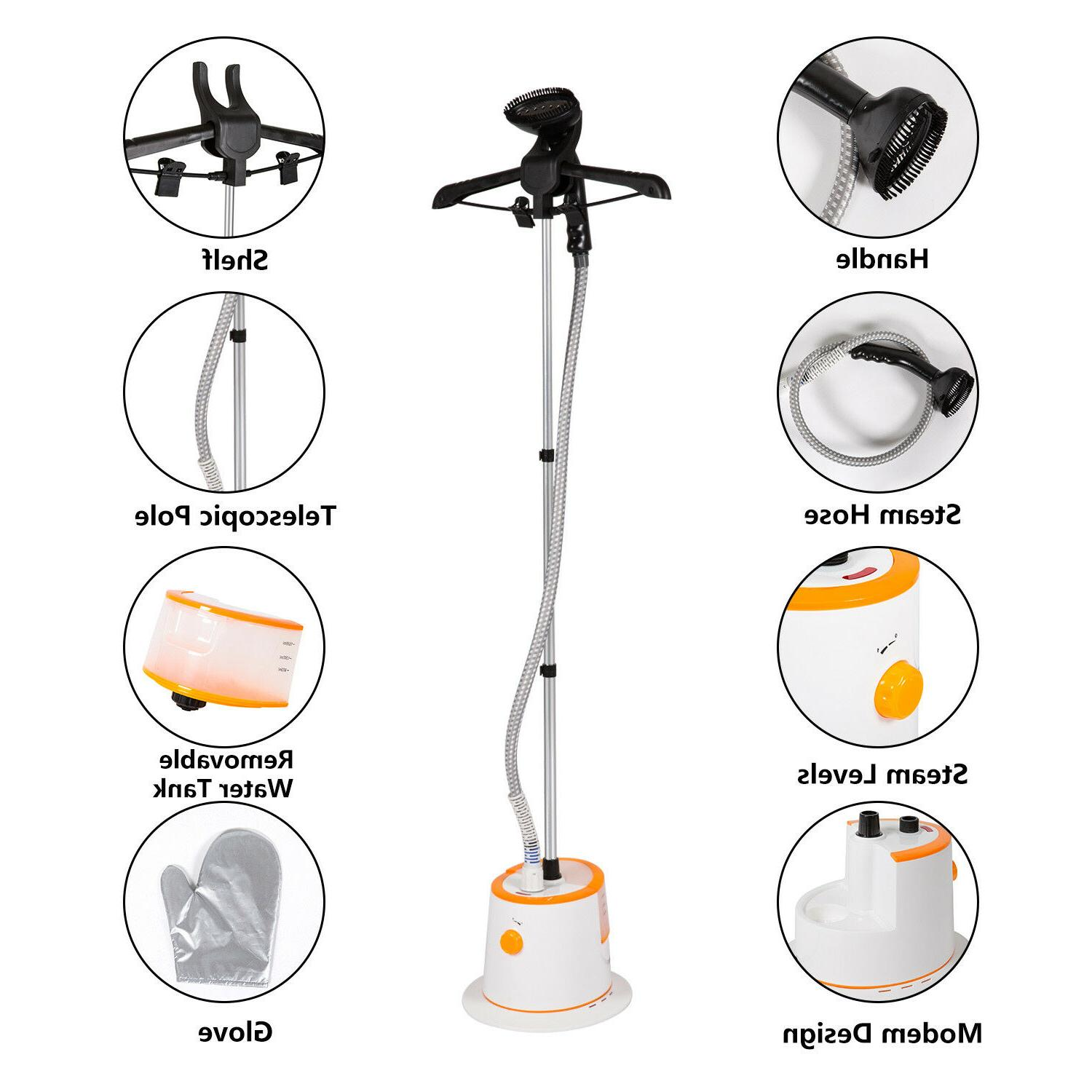 home iron upright portable fabric steam laundry