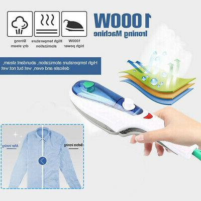 1000W Portable Handheld Electric Steam Iron Fabric Laundry C