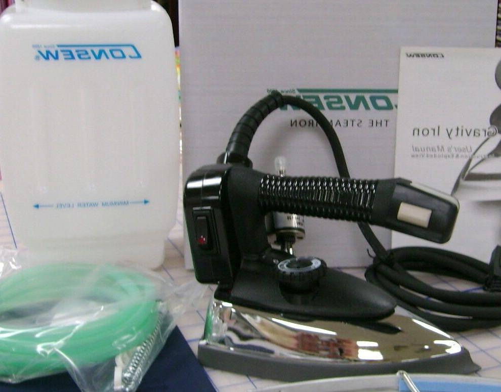 new ces94a industrial gravity steam iron w