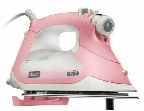 NEW Smart Steam Iron 1800W w/ iTouch Technology Pink