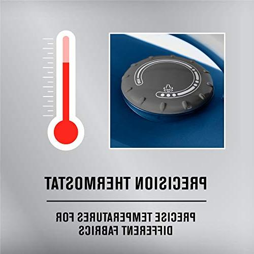 Maytag Speed Iron & with Stainless Steel Sole Plate, Self Cleaning Function + Thermostat Dial, Blue