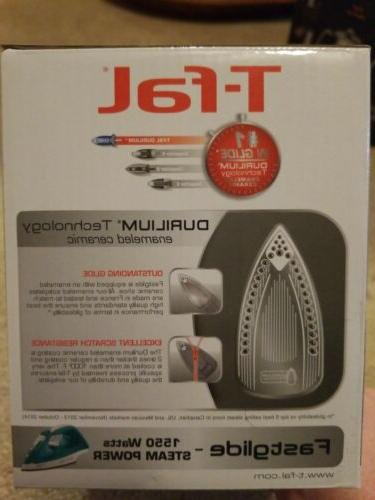 T-Fal Fastglide 1550 Steam Power Iron