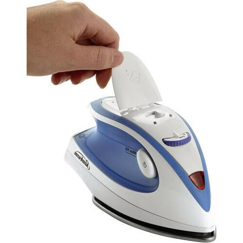 Travel Iron Compact Mini Steam Clothes Carry Garment