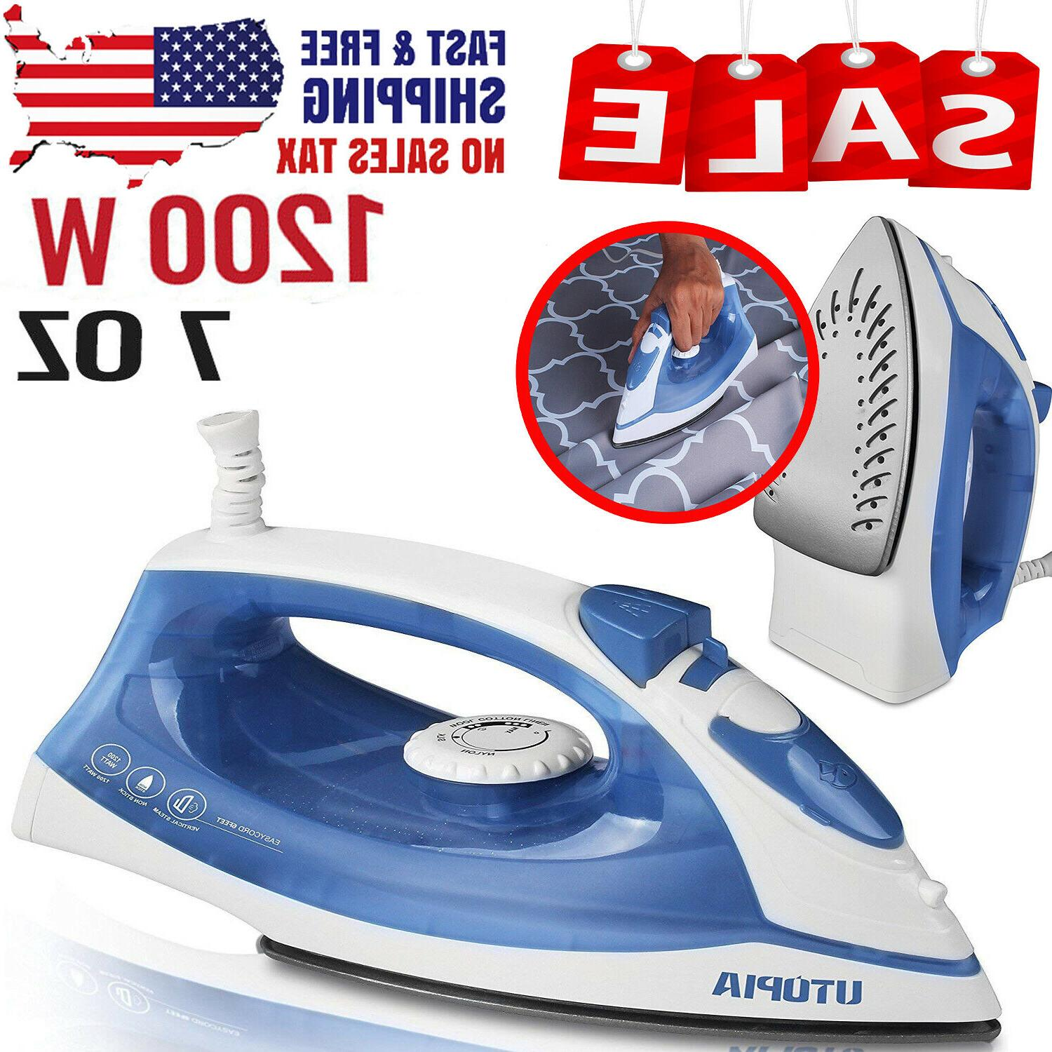travel iron steam clothes small compact electric