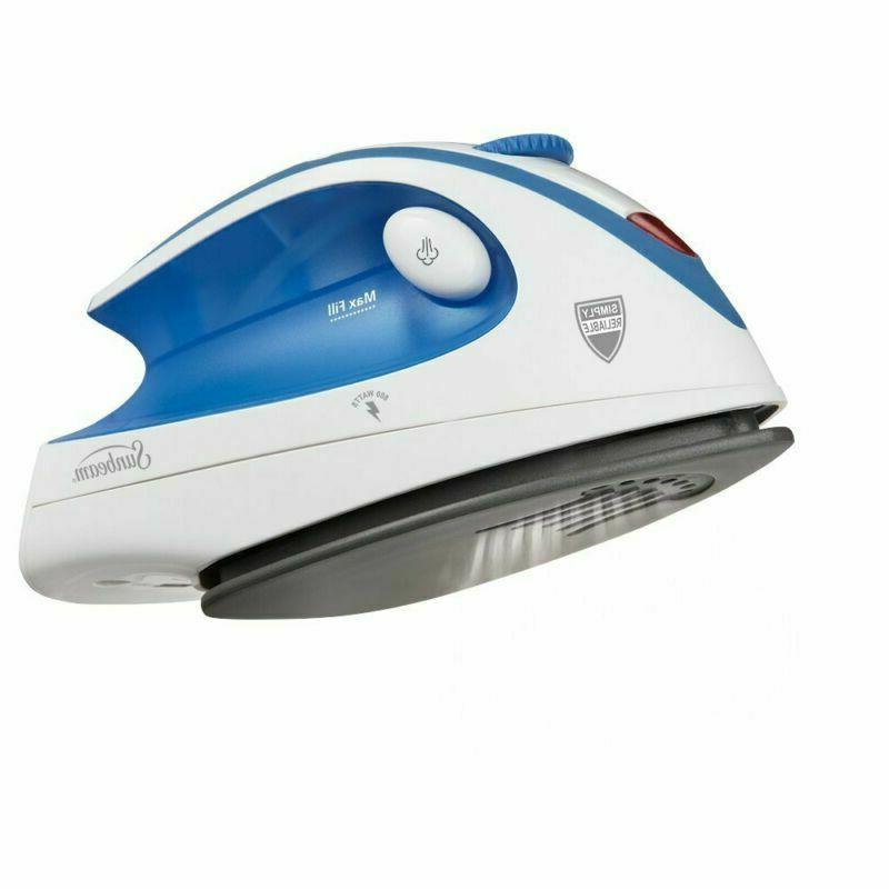 Travel Iron Electric Sunbeam Portable Iron
