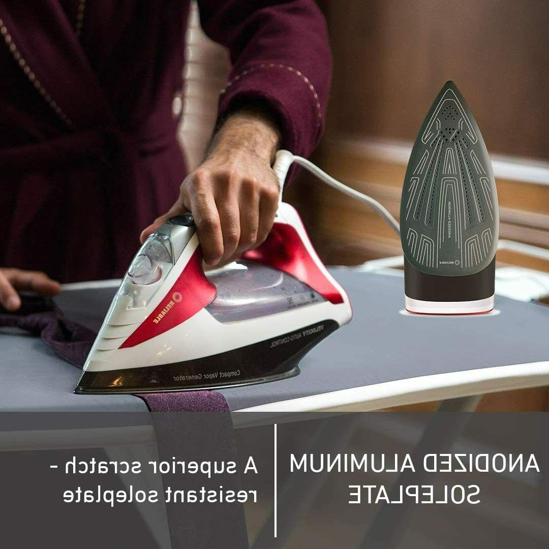 Reliable 260IR Steam Iron Auto Control Compact Vapor with S