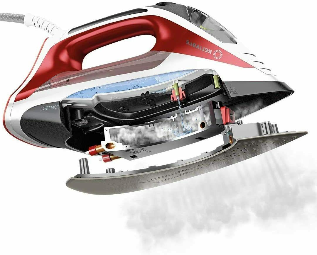 Reliable Velocity 260IR Steam Iron - Control Compact with S