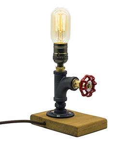 Steam punk Lamp with Dimmer, Dimmable Loft Style Industrial