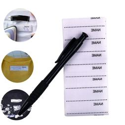 marker set clothing accessories garment labels fabric