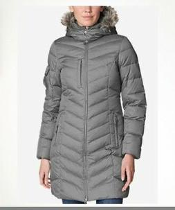 NEW Eddie Bauer Womens 2017 Sun Valley Down Parka Coat 650 F