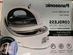 PANASONIC NI-WL600 CORDLESS STEAM IRON W/ STAINLESS STEEL SO