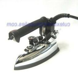 GRAVITY FEED INDUSTRIAL STEAM IRON SILVER STAR ES-85 COMPLET