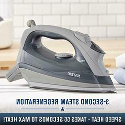 Maytag Speed Heat Steam Iron with Stainless Steel Sole Plate