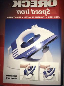 ORECK  SPEED IRON  CORDLESS STEAM IRON.