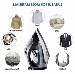 AICOK Steam Iron, 1400W Non-Stick Soleplate Iron Anti-Drip,