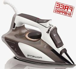 Rowenta Steam Iron, Stainless Steel Soleplate with Auto-Off,
