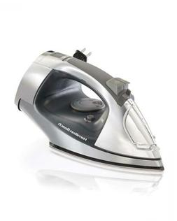 Hamilton Beach Steam Iron with Retractable Cord & Stainless