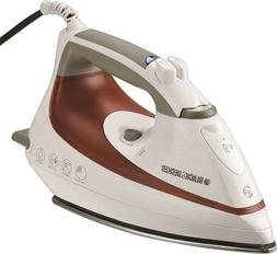 Black & Decker SteamAdvantage Iron - Stainless Steel Sole Pl